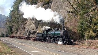 Skookum Returns - Oregon Coast Scenic Railroad