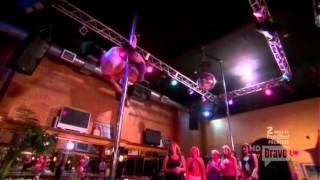 Danielle Staub & Kim G Working The Pole