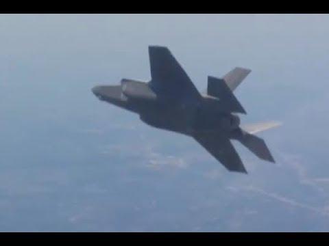 Неудачная воздушная дозаправка F-35попала навидео