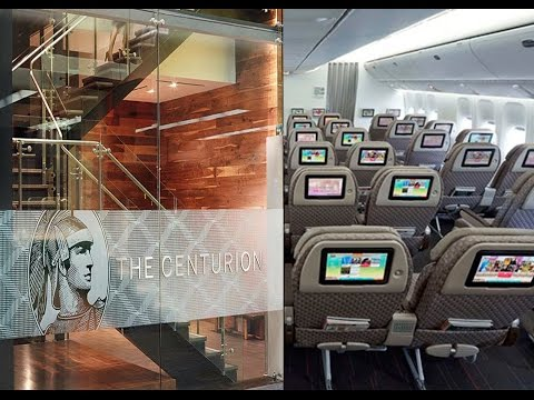 Traveling to Taiwan, Eva Airlines Elite Class, Centurion Lounge SFO Tour