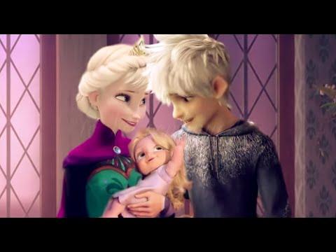 Nữ hoàng băng giá Elsa bí mật sinh em bé