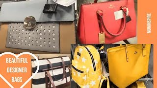 TK MAXX WOMENS BAGS ~ SHOPPING VLOG TK MAXX ~ BEAUTIFUL WOMEN HANDBAGS 💝💝💝