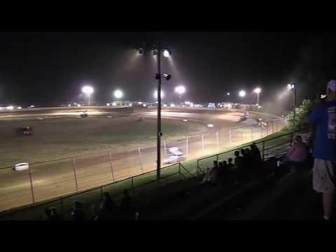 Twin Cities Raceway Park   7/22/17   Racesaver 305 Sprints   Feature