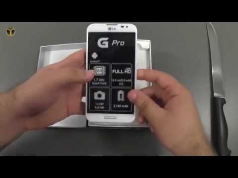 LG Optimus G Pro Türkçe İnceleme
