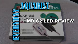 All Pond Solutions Hmd C2 Led Review (nano Aquarium Light )