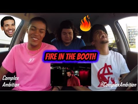 DRAKE - FIRE IN THE BOOTH (REACTION REVIEW) WE'RE IN LA