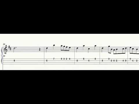 Mandolin Tab - Carolan's Concerto  - Sheet music - Play Along