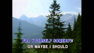 Maybe You Should Know - Kenny Rogers (Karaoke Cover)