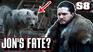 Jon Snow's Fate? | Game of Thrones Season 8 | Episode 4 Hint at the Ending?