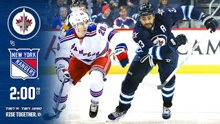 NHL 18 PS4. REGULAR SEASON 2017-2018. New York RANGERS VS Winnipeg JETS. 02.11.2018. (NBCSN) !