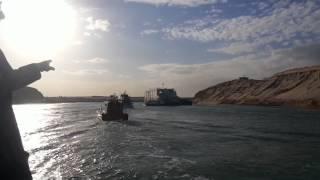 : جولة الفريق مميش ووزير الدولة البريطانى والسفير البريطانى فى قناة السويس