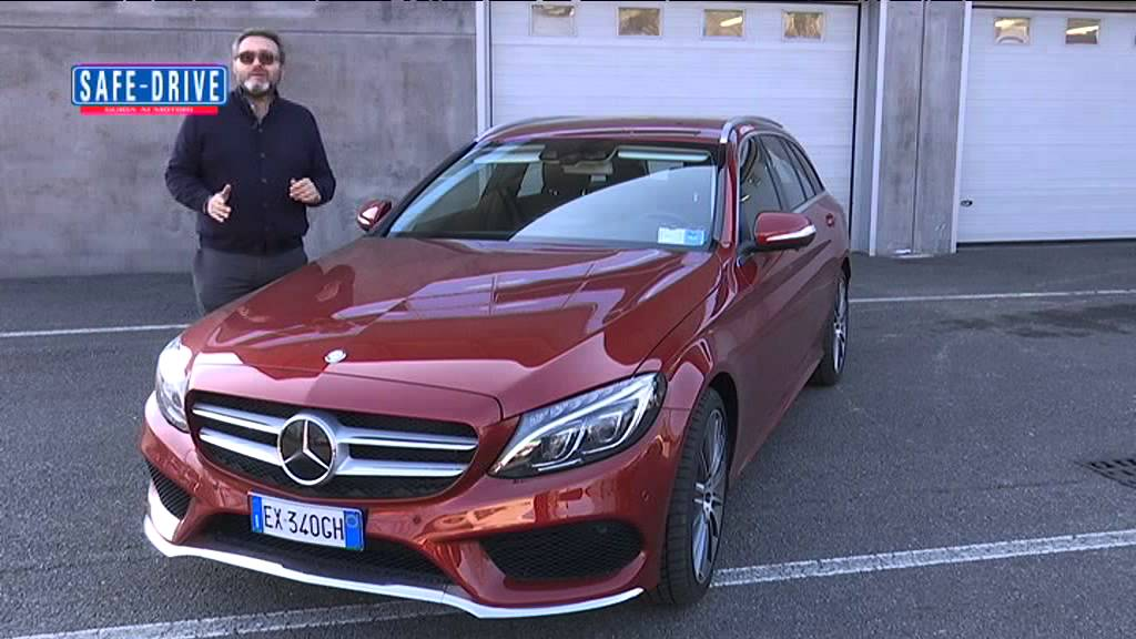 prova su strada mercedes benz classe c sw 250 bluetec 4matic aut youtube. Black Bedroom Furniture Sets. Home Design Ideas