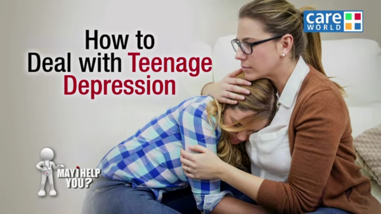 teen depression and psychologist