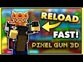 Reload in 0.00 Seconds GLITCH!! (Pixel Gun 3D Glitches NO HACK)