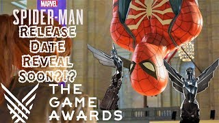 Spider-Man PS4 Release Date Reveal at The Game Awards 2017?!? VOTE FOR MARVEL