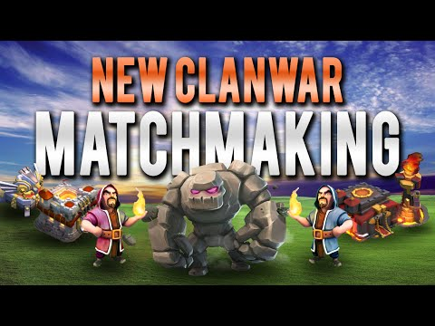 coc war matchmaking changes