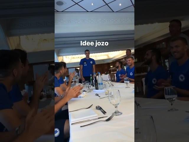 Jozo Šimunovi? pjeva pjesmu Moj je život Švicarska