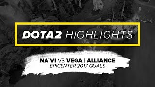 NAVI.Dota2 Highlights vs Vega, Alliance @ EPICENTER 2017 Quals