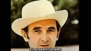 charles aznavour hier encore