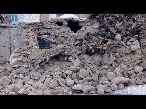 Землетрясение в Иране и Турции, есть жертвы