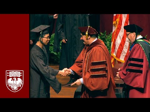 Physical Sciences Division Diploma and Hooding Ceremony, Spring 2015