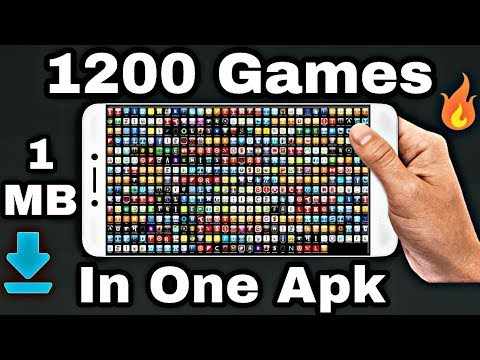 [1MB] Download 1200 Games In One Apk For Android Phone - 동영상