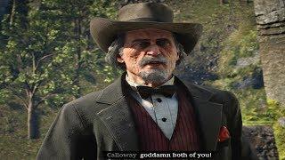 Red Dead Redemption 2 - Jim Boy Calloway Duel (Best Gunslinger) RDR2 2018