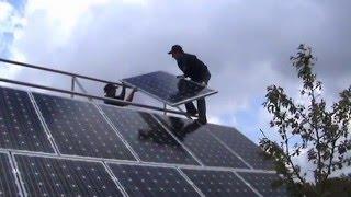 SOLARCORP  Montajem paineis solar , монтаж солнечных батарей.(, 2012-03-24T15:31:57.000Z)
