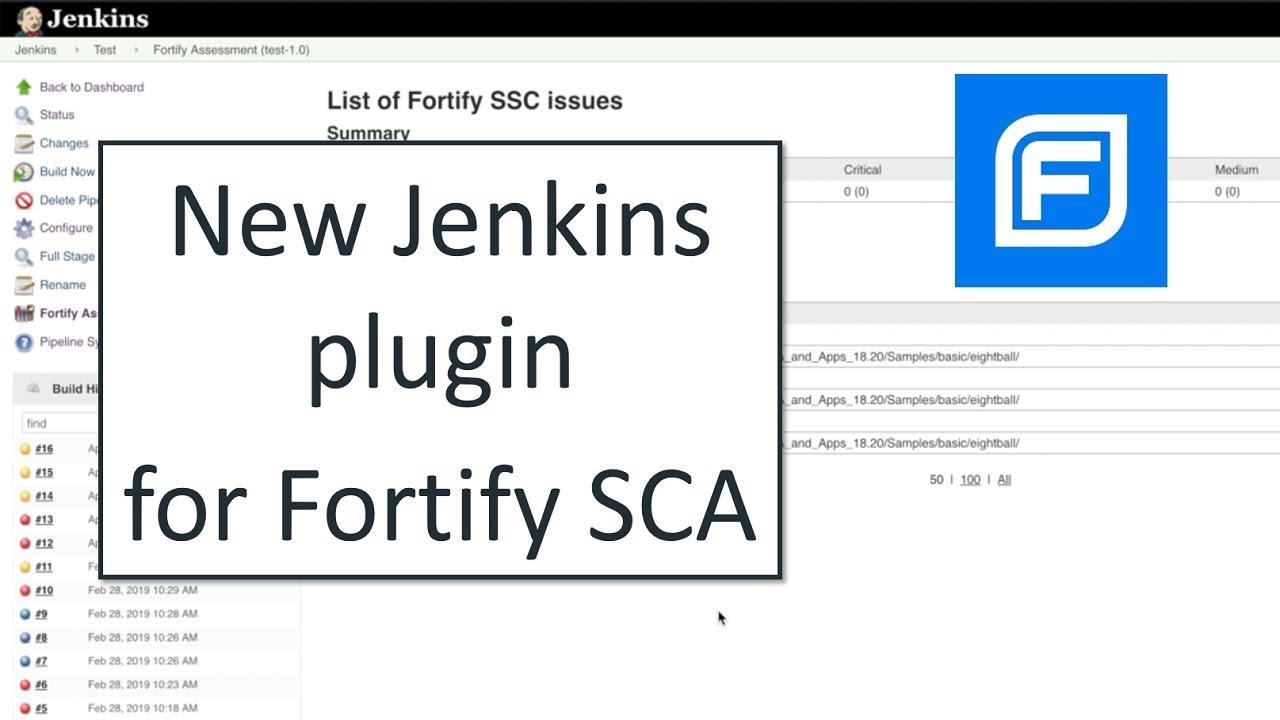 Fortify Plugin - Jenkins - Jenkins Wiki