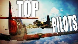 War Thunder Planes Gameplay | Best Pilots in War Thunder