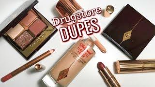 DRUGSTORE DUPES for Charlotte Tilbury Bestsellers