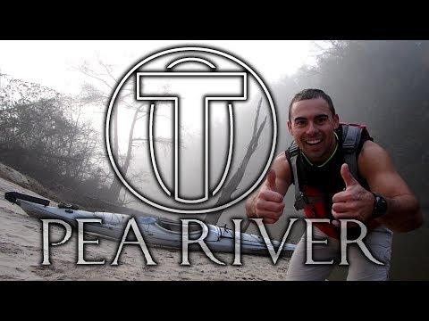 Solo Kayak Camping Trip - Pea River Alabama