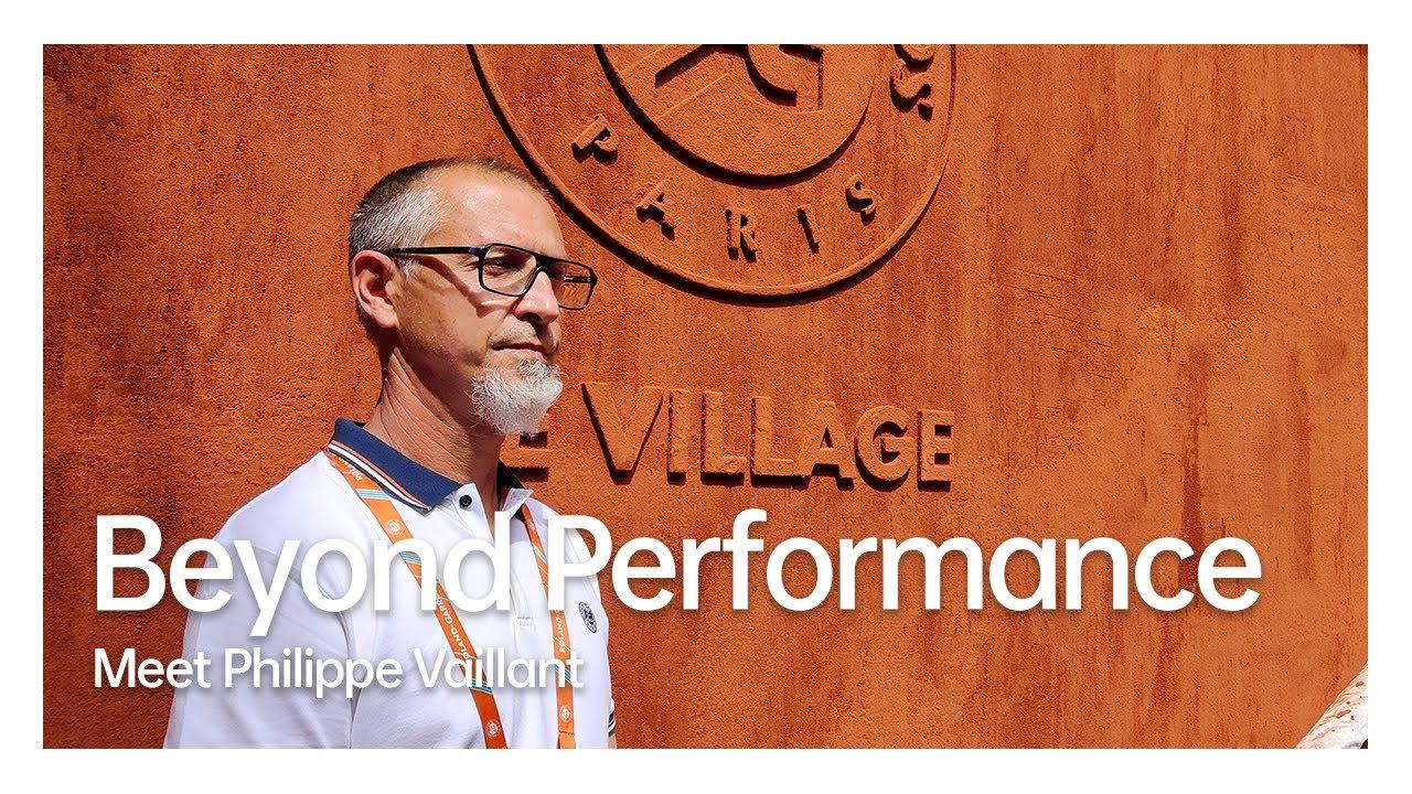 Beyond Performance | Meet Philippe Vaillant