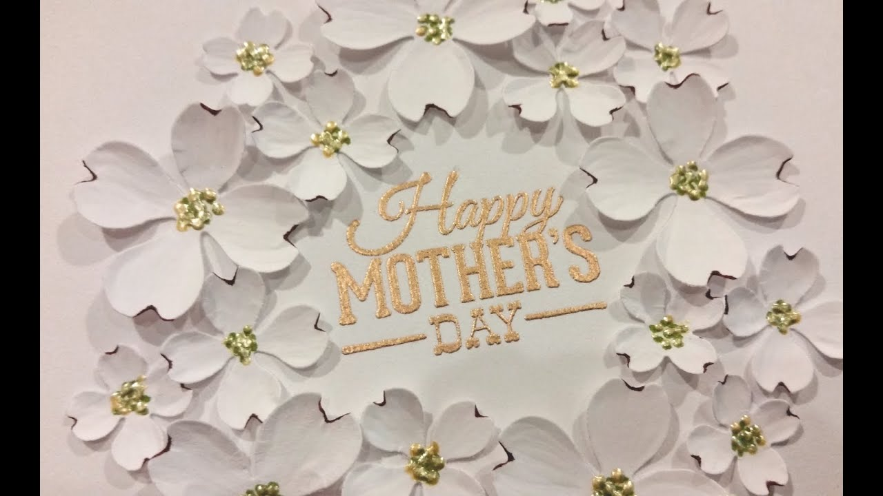 Classy Mothers Day Cards Of Elegant Mother 39 S Day Card Tutorial Diemond Dies Dtp