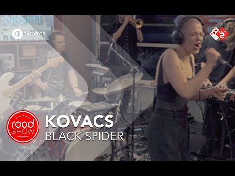 Kovacs - 'Black Spider' live @ Roodshow Late Night