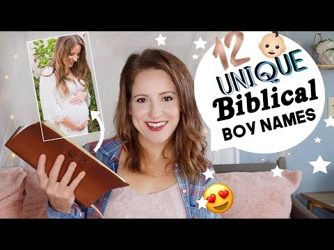 Strong Baby Boy Names From The Bible I Love!