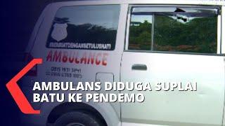Tak Hanya Kabur dari Razia, Ambulans juga Nyaris Menabrak Polisi!
