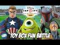 Disney Infinity 3.0 Toy Box Fun Battle Gameplay Part 4
