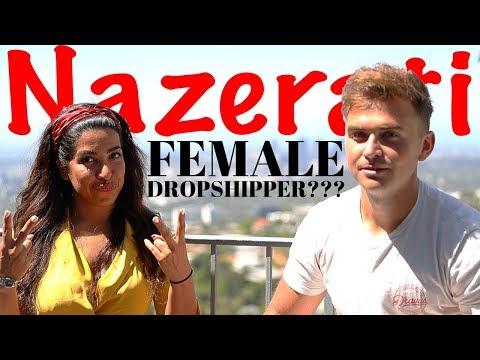 Dropshipping Girl NAZERATI Talks $25k/days, Facebook Ads, Female Entrepreneurship & MORE thumbnail
