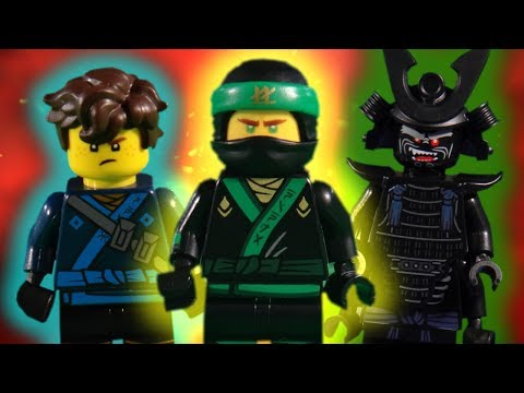 THE LEGO NINJAGO MOVIE COMPLATION