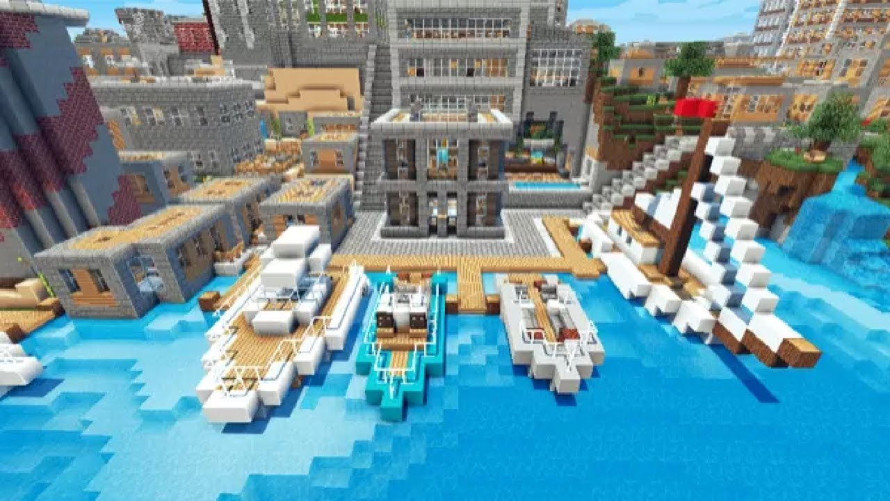 Minecraft vertoak city map presentation and download youtube gumiabroncs Image collections