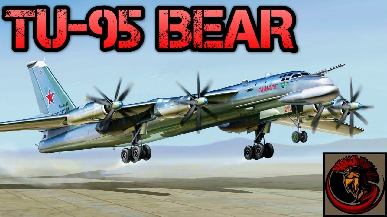 Tupolev Tu 95 Bear Russian Long Range Bomber Youtube