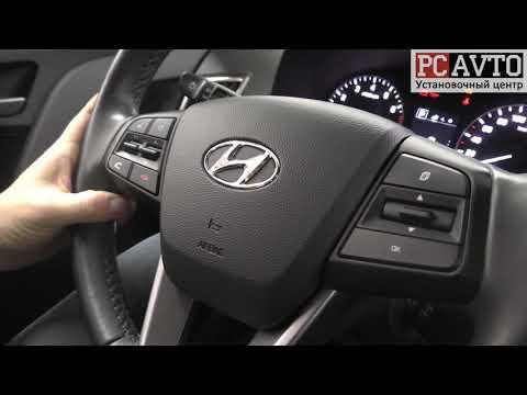 Дооснащение Hyundai Creta штатной Android магнитолой и камерой заднего вида