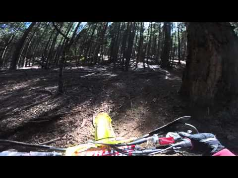 RMZ450 hill climb French Gulch CA