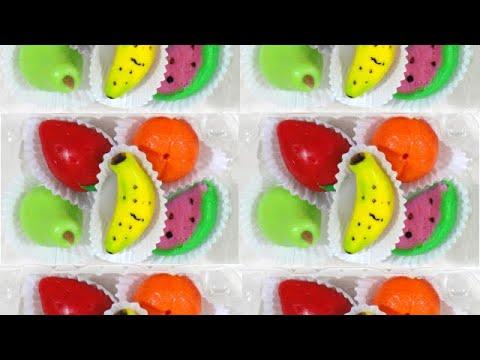 Como hacer frutas de mazapan de leche youtube - Como se hacen crepes dulces ...