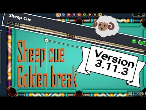 Golden break with sheep cue | 8 Ball pool | 9 Ball pool