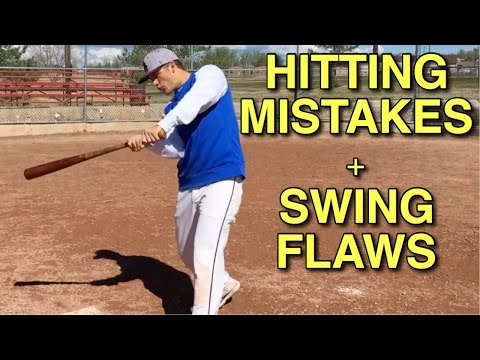 How To: Avoid The Most Common Baseball Hitting Mistakes & Swing Flaws