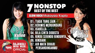 Gambar cover Via Vallen feat Wiwiek Sagita - 10 Best Slow Rock Koplo【Nonstop】Full Album