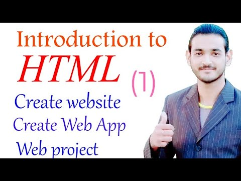 Introduction to html (Tutorial) thumbnail