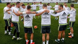 Real Madrid players invented a new kind of rondo